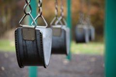 Schwingen im Park Lizenzfreies Stockfoto
