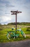 Schwinn lyx- cykel 7 Arkivfoton