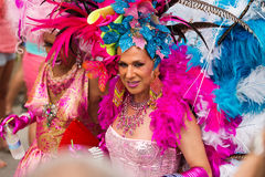 Schwulenparade in Sitges Lizenzfreies Stockfoto
