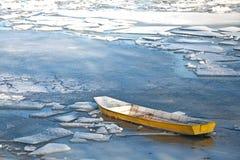 Schwytana łódź Zdjęcie Royalty Free