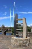 Schwytanych afrykanów niewolniczy pamiątkowy quay Lancaster Obraz Royalty Free