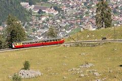 Schynige Platte railway Stock Image