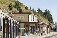 Schynige Platte railway terminus station Stock Images