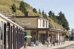 Schynige Platte railway terminus station Stock Images