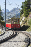 Schynige Platte railway terminus station Royalty Free Stock Image