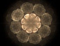 Sci φουτουριστικό ενδιάμεσο με τον χρήστη FI αφηρημένη απεικόνιση Στοκ Φωτογραφία