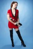 sci пушки девушки fi сексуальное Стоковые Фотографии RF