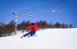 Sci alpino Immagini Stock Libere da Diritti