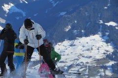 Sci alpino Fotografie Stock