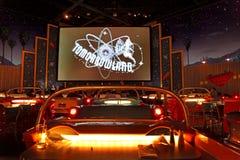Sci Fi δειπνώ-στο θέατρο Στοκ Εικόνες