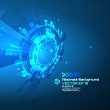 Sci-fi abstract background for futuristic high tech design - vector.  royalty free illustration
