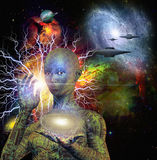 Sci Fi Android Royalty Free Stock Images
