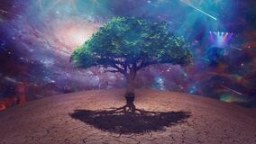 Sci fi art. Tree of life