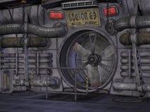 Sci-Fi Background Stock Photo