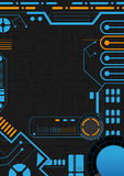 Sci-Fi Background Design Royalty Free Stock Photography