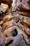 Sci-fi-come le rocce Fotografia Stock