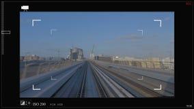 Sci fi est une interface futuriste faite sur commande de viseur pour la photo et les caméras vidéo, un vaisseau spatial de pointe clips vidéos