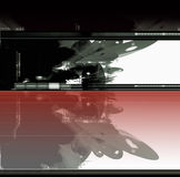 Sci-fi- fantastic building Royalty Free Stock Photo
