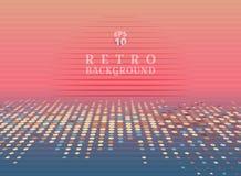 Sci fi futuristic abstract 80s Retro Neon gradient background wi. Th graphic sun on horizon. Vector illustration vector illustration