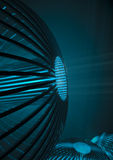 Sci-fi generators background. 3D render of science fiction technology Stock Photos