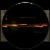 Sci-Fi Icon Background Stock Image