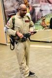 Sci fi konwencja w Gothenburg ludziach z śmiesznymi pistoletami obraz stock