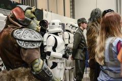 Sci fi konwencja w Gothenburg spacer wokoło zdjęcia royalty free