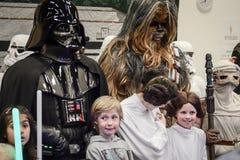 Sci fi regel i Göteborg gå omkring royaltyfria foton