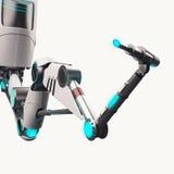 Sci FI-Roboterarm Lizenzfreie Stockfotos