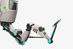 Sci FI-Roboterarm Lizenzfreie Stockbilder