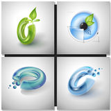 Sci-fi sign Icons Royalty Free Stock Photos
