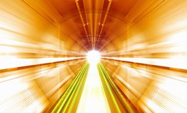Sci Fi tunnel Stock Photography