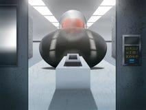 Sci-Fidatasal - Digital illustration Royaltyfria Foton