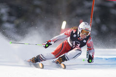 SCI: Slalom del gigante di Lienz Immagine Stock Libera da Diritti