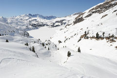 Sci slope of Engelberg Stock Photography