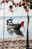 Sciabica della piccola barca Fotografie Stock