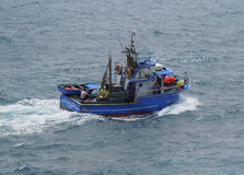 Sciabica portoghese di pesca Fotografia Stock Libera da Diritti