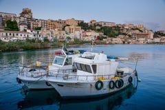 SCIACCA ITALIEN - Oktober 18, 2009: panoramautsikt av kustlinje I Fotografering för Bildbyråer