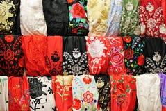 Scialle di flamenco Immagini Stock