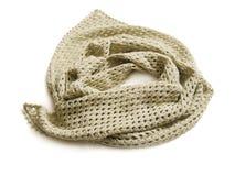 Scialle lavorato a maglia Immagine Stock Libera da Diritti