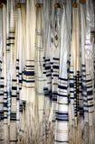 Scialli di preghiera ebrei o Tallit Immagini Stock Libere da Diritti
