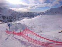 Sciando in Austria immagini stock
