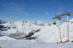 Sciando in Svizzera Fotografia Stock