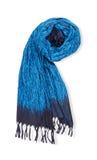 Sciarpa blu Fotografie Stock