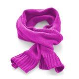 Sciarpa calda calda rosa Fotografia Stock Libera da Diritti
