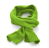 Sciarpa calda verde Fotografia Stock Libera da Diritti