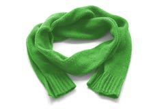 Sciarpa calda verde Immagine Stock