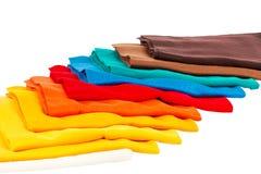 Sciarpa del cashmere da lana Fotografie Stock