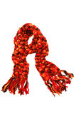 Sciarpa del Knit fotografie stock libere da diritti