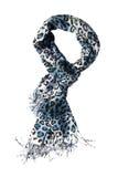 Sciarpa del leopardo Immagini Stock